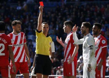 Ramos Redcard