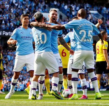Новый рекорд Манчестер Сити в матче против Уотфорда. Зинченко вне заявки.